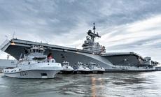 Ác mộng Covid-19 phủ bóng tàu sân bay Pháp