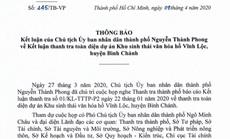 """Dự án """"treo"""" hơn 20 năm ở Bình Chánh: TP HCM kiểm điểm trách nhiệm 3 đơn vị"""