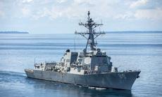 Mỹ lại điều tàu chiến đến biển Đông thách thức Trung Quốc