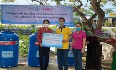 PNJ trao tặng 1.875 bồn chứa nước giúp bà con miền Tây vượt qua hạn mặn