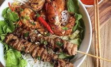 Bún nem nướng và loạt bún nguội trứ danh ở Việt Nam