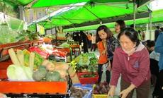 Nhiều chợ phiên nông sản trở lại