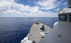Sau tuyên bố mạnh mẽ, tàu chiến Mỹ xuất hiện gần Trường Sa