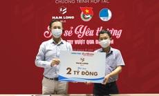 Nam Long hỗ trợ hơn 5 tỉ đồng cho tuyến đầu chống dịch Covid-19