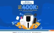 Chủ thẻ Sacombank và chủ tài khoản Sacombank Pay hưởng nhiều ưu đãi khi mua sắm trên Tiki