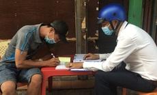 CLIP: Phát hiện và xử nghiêm nhiều người không đeo khẩu trang ở quận Bình Tân