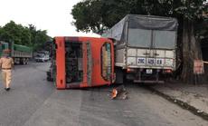 Bất ngờ sang đường, người phụ nữ đi xe đạp điện bị xe khách tông tử vong