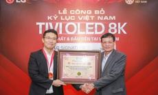 TV LG OLED 8K lập kỷ lục tại Việt Nam