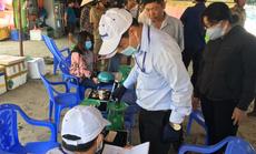 Lập điểm cân đối chứng chống buôn bán gian lận hải sản tại Bình Thuận