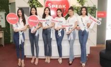Trung tâm Anh ngữ Speak UP áp dụng mô hình học tích hợp cho TS Miss Tourism Vietnam 2020