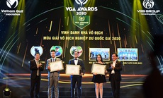 Gala VGA Awards vinh danh golf thủ Việt xuất sắc 2020