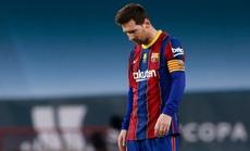 Barcelona gặp khó trong việc giữ Messi