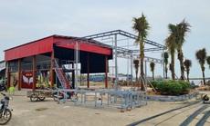 Hàng loạt công trình xây liều ở khu tránh trú bão