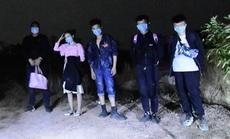 Bình Phước bắt 5 người Trung Quốc nhập cảnh trái phép