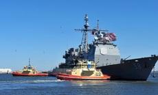 """Hai tàu chiến Mỹ """"trúng đòn"""" Covid-19"""