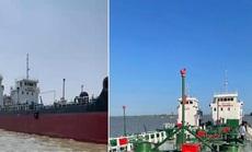 """Gây cấn đường dây buôn bán xăng giả 'khủng"""", tìm thấy 2 tàu chống trả nhằm bỏ trốn"""