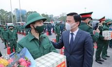 Bí thư, Chủ tịch Thanh Hóa tiễn đưa gần 4 ngàn tân binh nhập ngũ