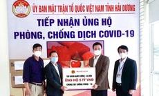 Tập đoàn Nam Cường tiếp sức Hải Dương phòng chống dịch Covid-19