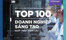Saint-Gobain 10 năm được vinh danh Top 100 doanh nghiệp sáng tạo hàng đầu thế giới