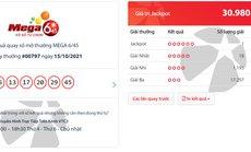 Vé số Vietlott trúng thưởng 30,9 tỉ đồng bán ở Hà Tĩnh