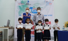 """""""Caravan Ngược ngàn thắp giấc mơ bay"""" bàn giao Thư viện 2030 cho 1 trường tiểu học ở Khánh Hòa"""