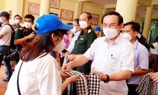 Bí thư Nguyễn Văn Nên cùng lực lượng tuyến đầu đi tour liên tỉnh đầu tiên