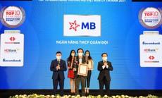MB nằm trong Top 4 ngân hàng uy tín năm 2021