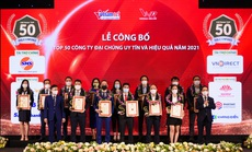 Khang Điền được vinh danh Top 50 công ty đại chúng uy tín và hiệu quả