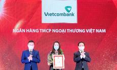 Vietcombank dẫn đầu Top 10 ngân hàng thương mại uy tín năm 2021