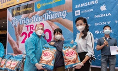 Trao gạo trên 23 tỉnh thành phía Nam, Thế giới di động & Điện máy Xanh san sẻ khó khăn giúp bà con giữa mùa dịch