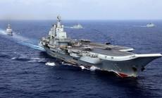 """Biển Đông """"chật chội"""" tàu sân bay Mỹ - Trung"""