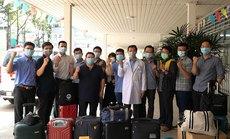 Hỗ trợ phòng chống dịch Covid-19 ở Kiên Giang