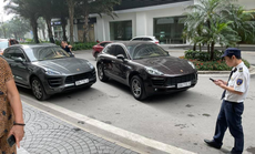 Vụ 2 xe sang Porsche cùng biển số: Đã xác định chiếc xe dùng biển số giả