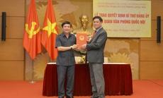 Chỉ định ông Bùi Văn Cường giữ chức Bí thư Đảng ủy cơ quan Văn phòng Quốc hội
