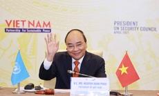 Chủ tịch nước Nguyễn Xuân Phúc chủ trì phiên họp quan trọng của Hội đồng Bảo an