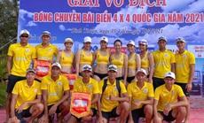Giải vô địch bóng chuyền bãi biển 4x4 quốc gia: Nam, nữ Sanvinest Khánh Hòa vô địch