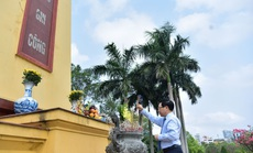 Dâng hương tưởng niệm nguyên Phó Chủ tịch Hội đồng Bộ trưởng Nguyễn Cơ Thạch