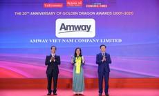 Amway Việt Nam vinh dự nhận Giải thưởng Rồng Vàng 2021