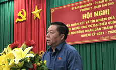 100% cử tri tín nhiệm giới thiệu ông Nguyễn Trọng Nghĩa ứng cử đại biểu Quốc hội