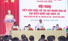 Chủ tịch nước Nguyễn Xuân Phúc tiếp xúc cử tri quân đội