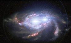 """Bắt được hình ảnh """"xuyên không"""" 10 tỉ năm từ """"quái vật kép"""" vũ trụ"""