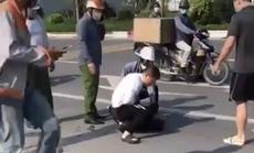 Đại uý đứng nhìn tài xế vật lộn với kẻ bị truy nã có xứng đáng là chiến sĩ CAND?