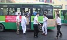Thái Nguyên chi viện bác sĩ, xe cứu thương cho Bắc Giang chống dịch Covid-19