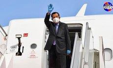 Thủ tướng Hun Sen đón tin mừng sau khi bị cách ly 14 ngày