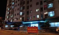 Một người định đu dây trốn khỏi khu chung cư đang phong tỏa tại Đà Nẵng