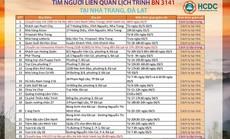 NÓNG: TP HCM truy tìm người liên quan ca Covid-19 đi Nha Trang, Đà Lạt