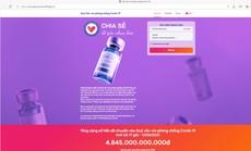 Ủng hộ Quỹ vắc-xin phòng Covid-19 trực tuyến dễ dàng qua website chính thức