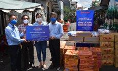 """""""Thực phẩm miễn phí cùng cả nước chống dịch"""" của Báo Người Lao Động đến 4 địa điểm ở quận 3"""