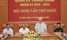 Chùm ảnh: Tổng Bí thư chủ trì Hội nghị Quân ủy Trung ương lần thứ nhất