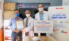 Giám đốc Bệnh viện Nguyễn Tri Phương: Cảm ơn sự hỗ trợ thiết thực của Báo Người Lao Động!